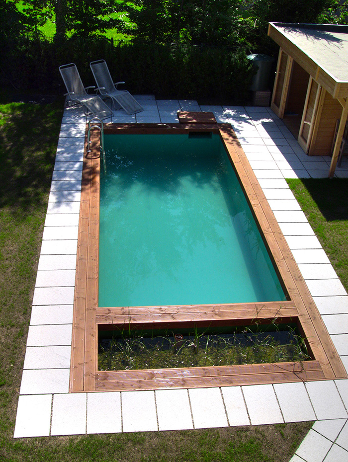 Como hacer una piscina natural en casa simple consejos for Construccion de piscinas naturales ecologicas